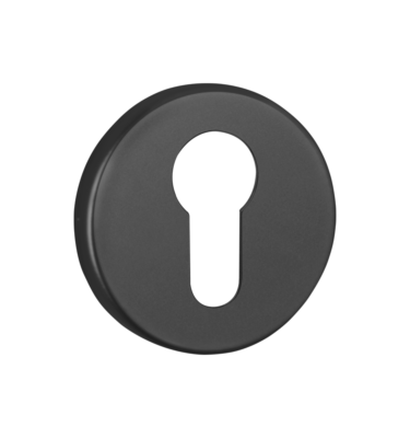 Escutcheon Black Euro